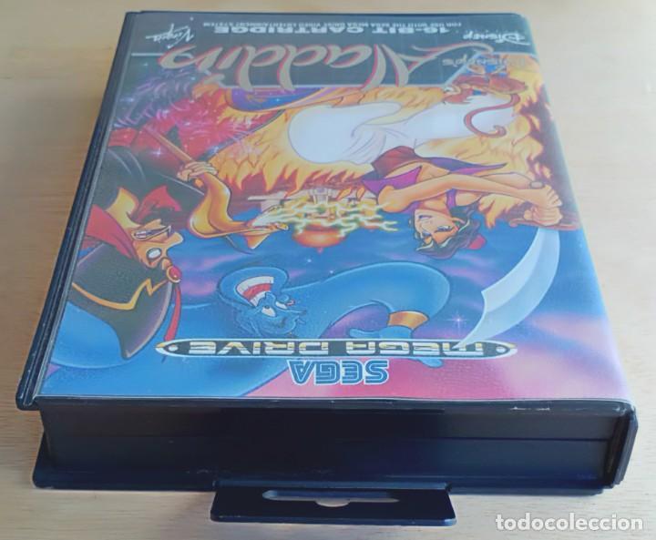 Videojuegos y Consolas: Aladdin / Juego Sega Mega Drive Megadrive / PAL / Disney Virgin 1993 - Foto 7 - 189367432