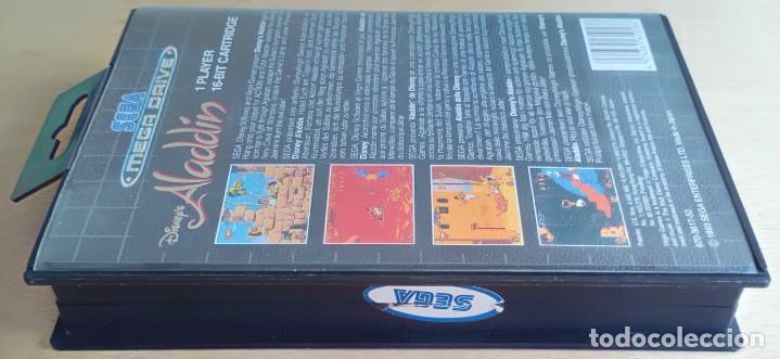 Videojuegos y Consolas: Aladdin / Juego Sega Mega Drive Megadrive / PAL / Disney Virgin 1993 - Foto 8 - 189367432