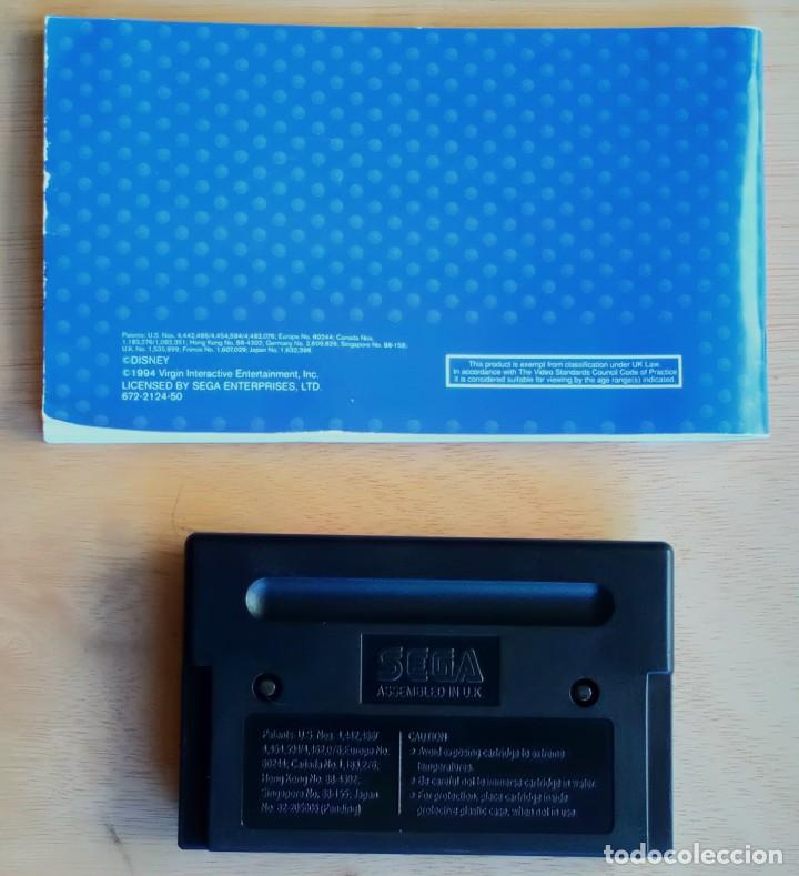Videojuegos y Consolas: El Rey León / Juego Sega Mega Drive Megadrive / PAL / Disney Virgin 1994 - Foto 5 - 190475528