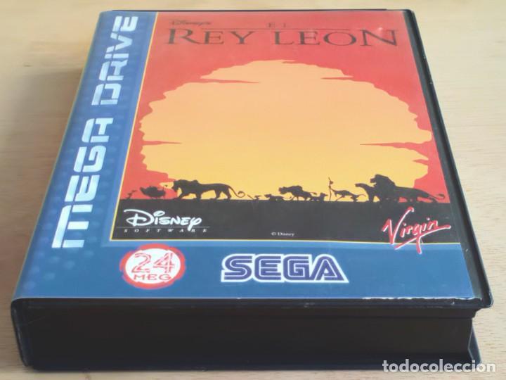 Videojuegos y Consolas: El Rey León / Juego Sega Mega Drive Megadrive / PAL / Disney Virgin 1994 - Foto 6 - 190475528