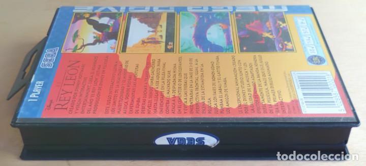Videojuegos y Consolas: El Rey León / Juego Sega Mega Drive Megadrive / PAL / Disney Virgin 1994 - Foto 7 - 190475528