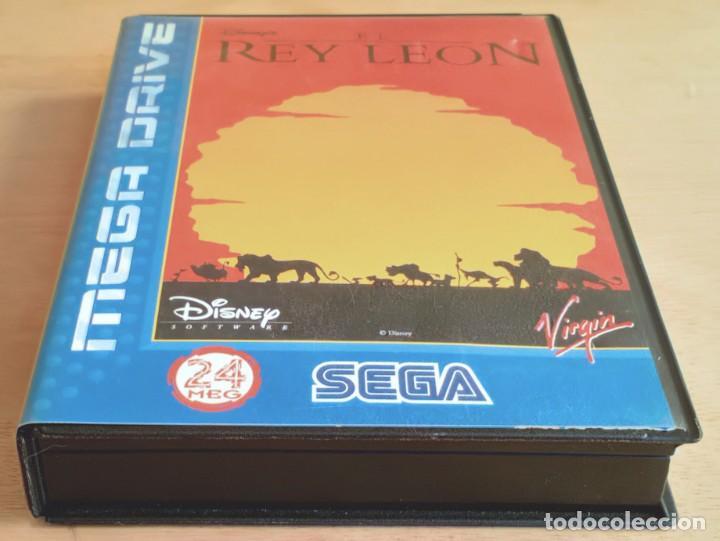 Videojuegos y Consolas: El Rey León / Juego Sega Mega Drive Megadrive / PAL / Disney Virgin 1994 - Foto 8 - 190475528