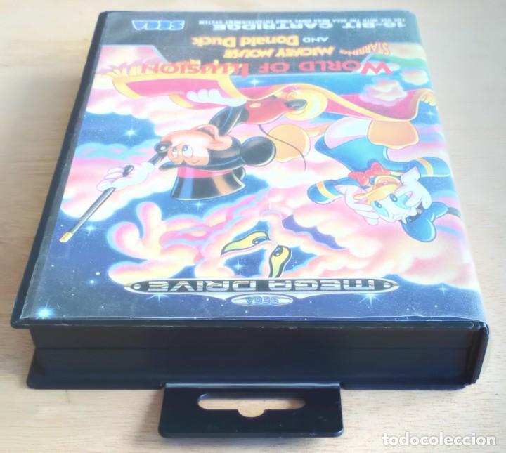 Videojuegos y Consolas: World of Illusion / Juego Sega Mega Drive Megadrive / PAL / Disney 1992 - Foto 6 - 191267036