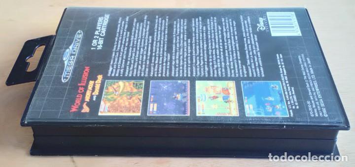 Videojuegos y Consolas: World of Illusion / Juego Sega Mega Drive Megadrive / PAL / Disney 1992 - Foto 7 - 191267036
