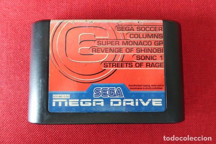 Videojuegos y Consolas: Juego Mega 6 Revenge of Shinobi con instrucciones para Sega MegaDrive - Foto 2 - 247112100