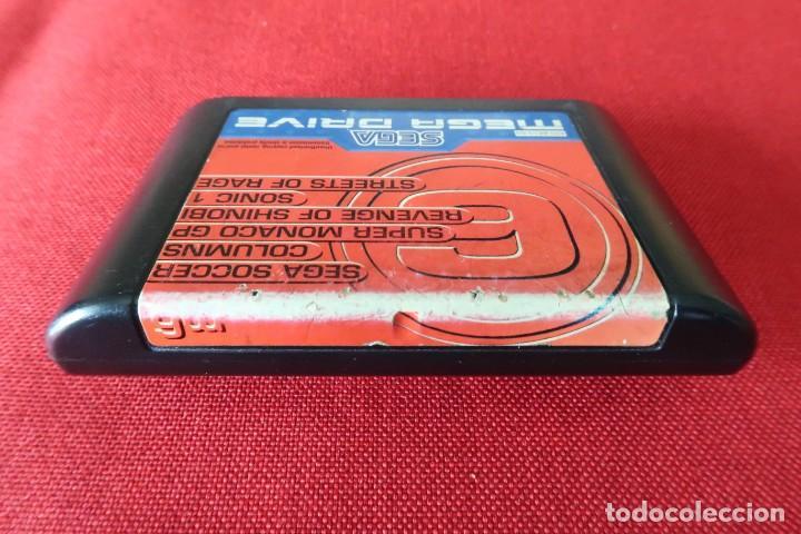Videojuegos y Consolas: Juego Mega 6 Revenge of Shinobi con instrucciones para Sega MegaDrive - Foto 3 - 247112100