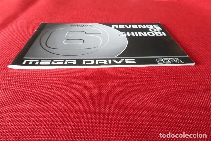 Videojuegos y Consolas: Juego Mega 6 Revenge of Shinobi con instrucciones para Sega MegaDrive - Foto 8 - 247112100