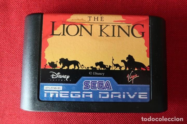 JUEGO THE LION KING PARA SEGA MEGADRIVE (Juguetes - Videojuegos y Consolas - Sega - MegaDrive)