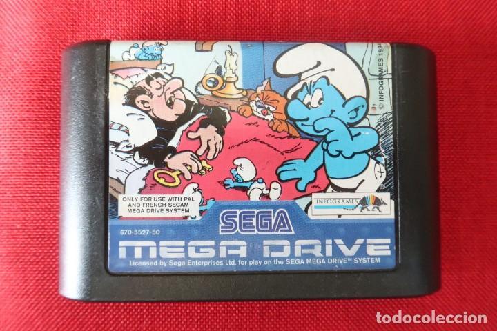 JUEGO LOS PITUFOS PARA SEGA MEGADRIVE (Juguetes - Videojuegos y Consolas - Sega - MegaDrive)