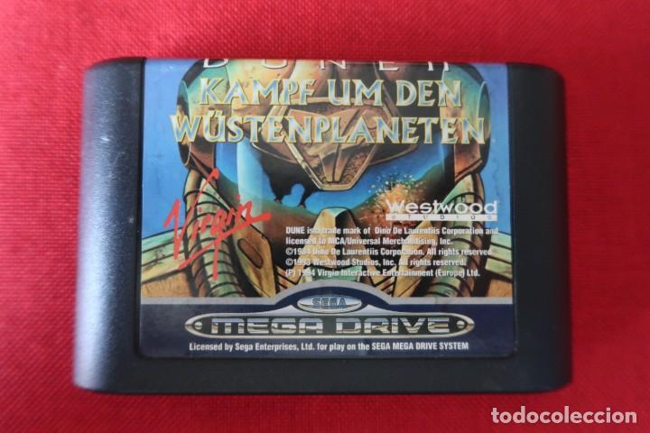 JUEGO DUNE 2 PARA SEGA MEGADRIVE (Juguetes - Videojuegos y Consolas - Sega - MegaDrive)