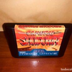 Videogiochi e Consoli: SAMURAI SHODOWN MEGADRIVE. Lote 247182595