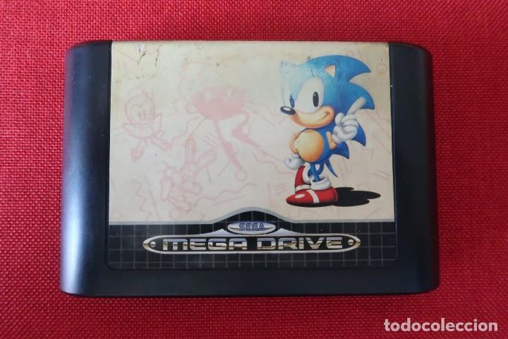 Videojuegos y Consolas: Juego Sonic The Hedgehog para Sega MegaDrive - Foto 2 - 247217340