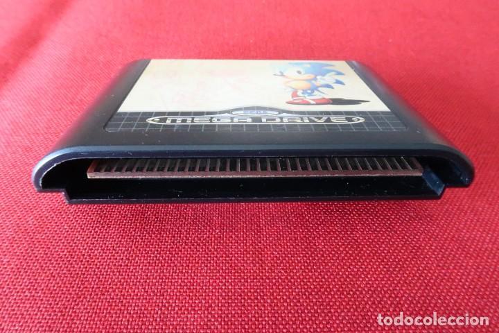 Videojuegos y Consolas: Juego Sonic The Hedgehog para Sega MegaDrive - Foto 4 - 247217340