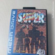 Videogiochi e Consoli: JUEGO SUPER STREET FIGHTER II - MEGA DRIVE - MUY BUEN ESTADO - SIN MANUAL. Lote 251822805