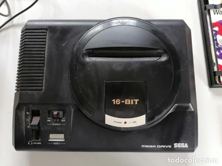Videojuegos y Consolas: CONSOLA SEGA MEGA DRIVE 16 BIT. - Foto 2 - 252199470