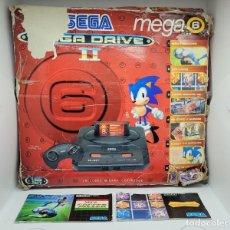 Videojuegos y Consolas: LOTE CAJA MEGADRIVE E INSTRUCCIONES COLUMNS Y SOCCER. SEGA. NO NINTENDO. NO GAME GEAR.. Lote 252280610