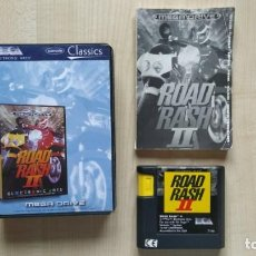 Videojuegos y Consolas: JUEGO SEGA MEGA DRIVE ROAD RASH II 2 MEGADRIVE ELECTRONIC ARTS PAL. Lote 252447340