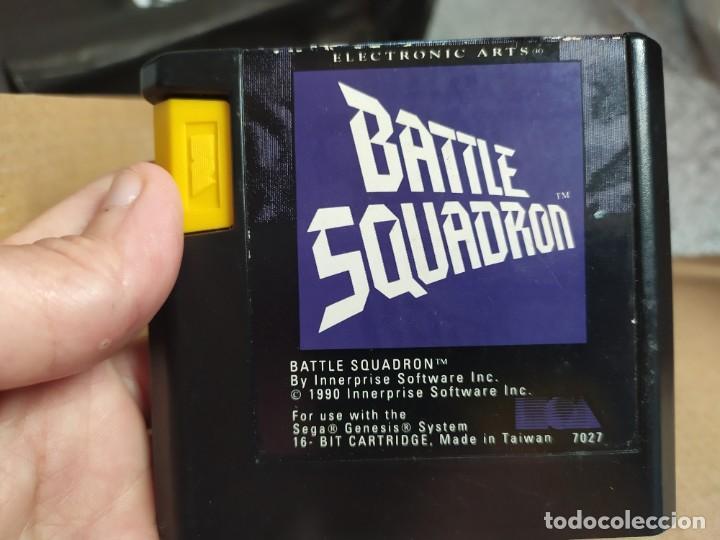 Videojuegos y Consolas: BATTLE SQUADRON SEGA MEGADRIVE - CATALOGADO COMO RARO - MEGA DRIVE - SEGA GENESIS SISTEM - Foto 5 - 76014331