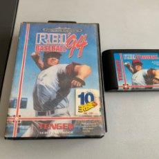 Videojuegos y Consolas: JUEGO MEGA DRIVE. R.B.I. BASE BALL 94. Lote 252769035
