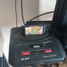 Jeux Vidéo et Consoles: SEGA MEGA DRIVE 2 CON 3 CARTUCHOS. Lote 254344180