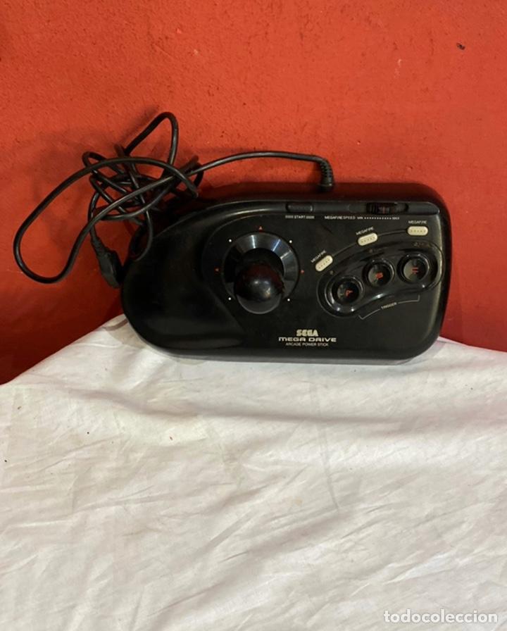 MANDO ARCADE POWER STICK PARA CONSOLA SEGA MEGA DRIVE PAL JOYSTICK MEGADRIVE EN BUEN ESTADO (Juguetes - Videojuegos y Consolas - Sega - MegaDrive)