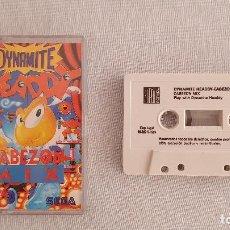 Videojuegos y Consolas: CINTA CASSETTE DYNAMITE HEADDY CABEZON MIX. Lote 255000040