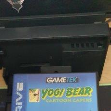Videojuegos y Consolas: SEGA MEGADRIVE YOGI BEAR CARTOON CAPERS. Lote 255483525