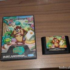 Videojuegos y Consolas: TAZ-MANIA TAZMANIA JUEGO SEGA MEGADRIVE MEGA DRIVE PAL ESPAÑA. Lote 255538815
