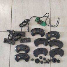 Videojuegos y Consolas: LOTE MANDOS SEGA MEGADRIVE MASTER SYSTEM , PARA PIEZAS O COMPLETAR. Lote 255557685