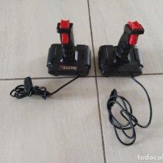 Videojuegos y Consolas: LOTE 2 MANDOS QUICKSHOT MSX PARA REPARAR O PIEZAS. Lote 255564050
