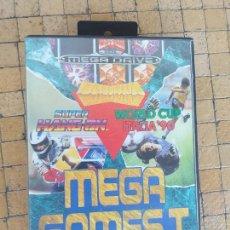 Videojuegos y Consolas: JUEGO SEGA MEGA DRIVE MEGA GAMES I HANG ON ITALIA 90 COLUMNS 3 JUEGOS EN 1 PAL. Lote 256064870