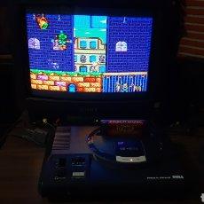 Videogiochi e Consoli: INCREIBLE MEGADRIVE SEGA CON DOS MANDOS RCA Y DYNAMITE HEADDY. Lote 258505425