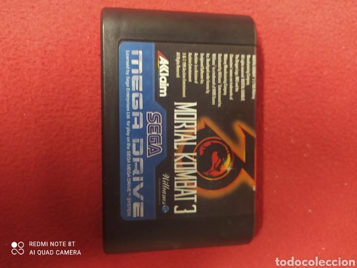 MORTAL KOMBAT 3 (Juguetes - Videojuegos y Consolas - Sega - MegaDrive)