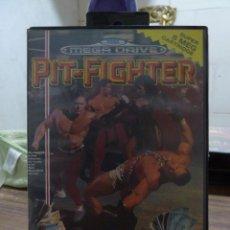 Videojuegos y Consolas: PIT-FIGHTER PARA MEGADRIVE. Lote 259946100