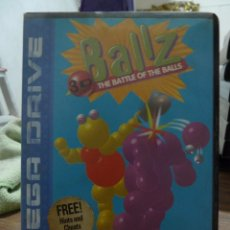 Videojuegos y Consolas: BALLZ THE BATTLE OF THE BALLS PARA MEGADRIVE. Lote 260098380