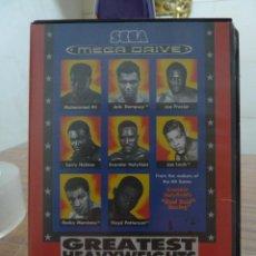Videojuegos y Consolas: GREATEST HEAVYWEIGHTS PARA MEGADRIVE. Lote 260293425