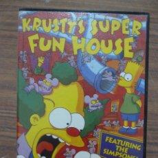 Videojuegos y Consolas: KRUSTY'S SUPER FUN HOUSE - THE SIMPSONS. Lote 261640010