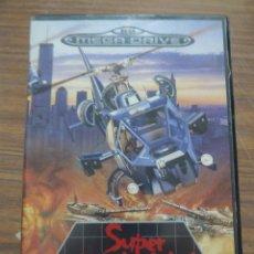 Videojuegos y Consolas: SUPER THUNDER BLADE PARA MEGADRIVE. Lote 261640245