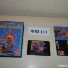Videojuegos y Consolas: MEGADRIVE - MEGA-LO-MANIA , PAL ESPAÑOL , COMPLETO. Lote 262051740