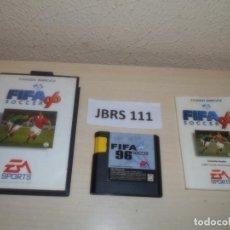 Videojuegos y Consolas: MEGADRIVE - FIFA 96 , PAL ESPAÑOL , COMPLETO. Lote 262051950