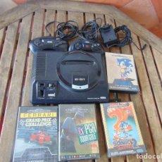 Videojuegos y Consolas: CONSOLA SEGA MEGA DRIVE CON, JUEGOS, MANDOS .NO ESTA NADA PROBADO , LEER. Lote 262281515