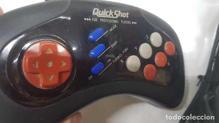 Videojuegos y Consolas: MANDO QUICKSHOT SEGA MEGA DRIVE - Foto 3 - 262477790