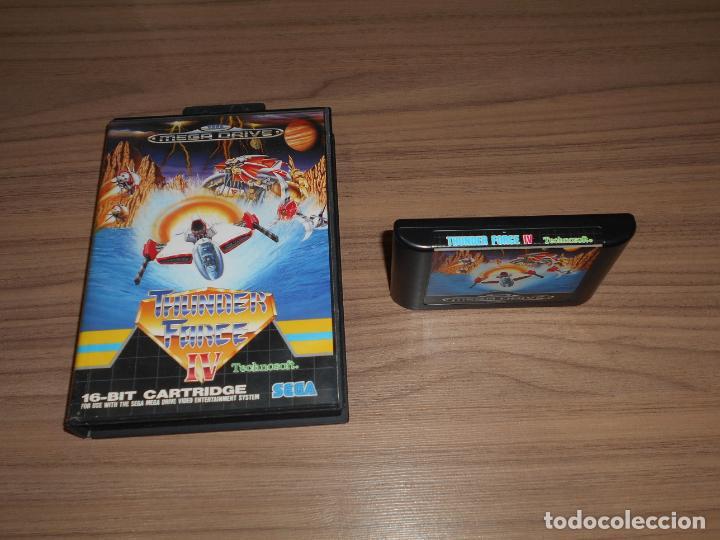 Videojuegos y Consolas: THUNDER FORCE IV juego Original SEGA MEGADRIVE Pal España MEGA DRIVE - Foto 2 - 262867200