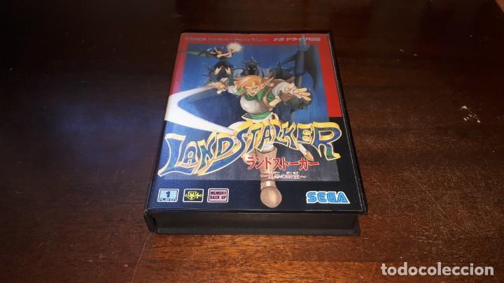 Videojuegos y Consolas: Sega Mega Drive tierra Stalker Japón Md-AÑO 1992 - Foto 2 - 263011510