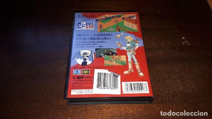 Videojuegos y Consolas: Sega Mega Drive tierra Stalker Japón Md-AÑO 1992 - Foto 3 - 263011510