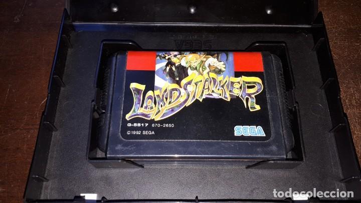 Videojuegos y Consolas: Sega Mega Drive tierra Stalker Japón Md-AÑO 1992 - Foto 4 - 263011510