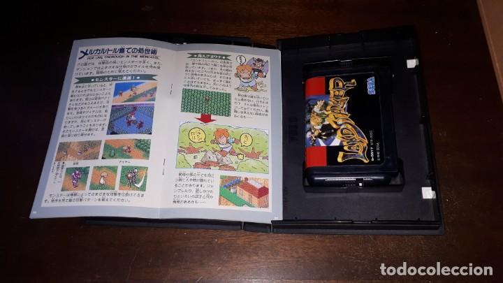 Videojuegos y Consolas: Sega Mega Drive tierra Stalker Japón Md-AÑO 1992 - Foto 6 - 263011510