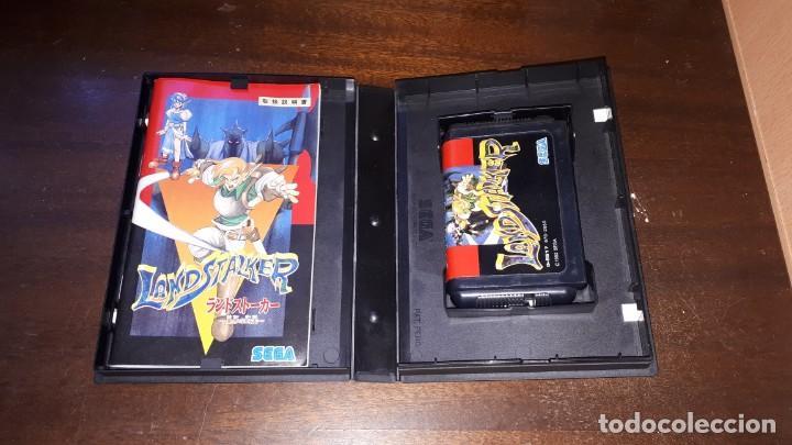 Videojuegos y Consolas: Sega Mega Drive tierra Stalker Japón Md-AÑO 1992 - Foto 8 - 263011510