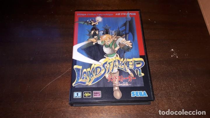 Videojuegos y Consolas: Sega Mega Drive tierra Stalker Japón Md-AÑO 1992 - Foto 9 - 263011510