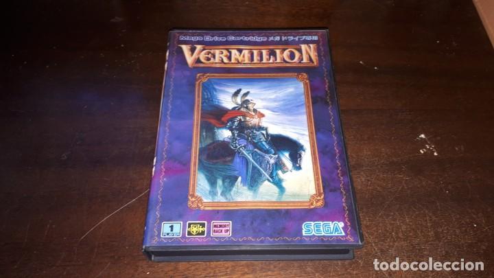 VERMILLION SEGA 1989 (Juguetes - Videojuegos y Consolas - Sega - MegaDrive)